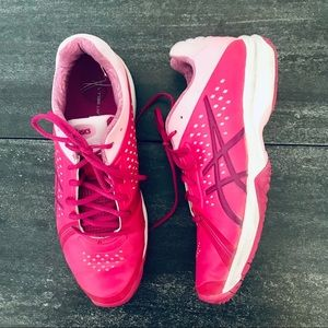 ASICS Pink Sneakers, size 10